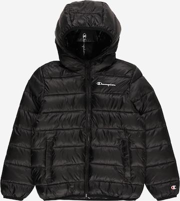 Champion Authentic Athletic Apparel Prechodná bunda - Čierna