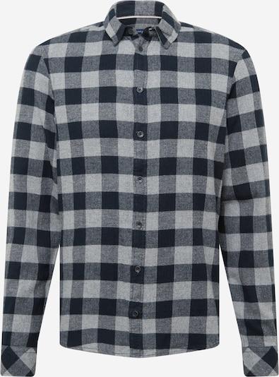 BLEND Hemd in grau / schwarz, Produktansicht