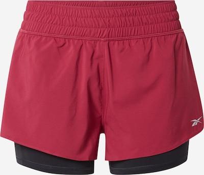 Reebok Sport Shorts in pitaya / schwarz, Produktansicht