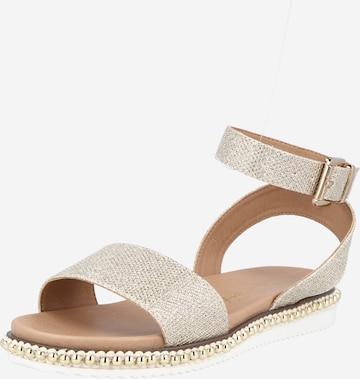 NEW LOOK Sandale 'FELICIA' in Gold