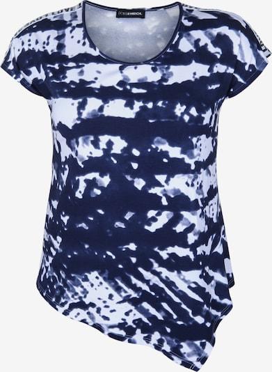 Doris Streich Shirt mit Zipfelsaum in blau, Produktansicht