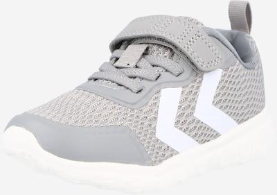 Hummel Baskets en gris / blanc, Vue avec produit