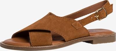 TAMARIS Sandalen met riem in de kleur Chamois, Productweergave
