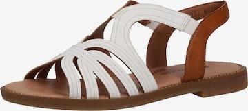 REMONTE Sandale in Weiß