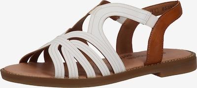REMONTE Sandale in karamell / weiß, Produktansicht