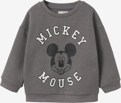 MANGO KIDS Sweatshirt 'Mickey' en dunkelgrau / weiß, Vue avec produit