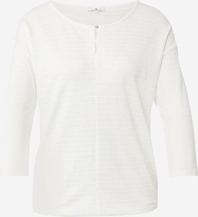 TOM TAILOR Shirt in creme / ecru / naturweiß, Produktansicht