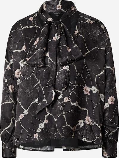 AllSaints Bluzka w kolorze pudrowy / czarny / białym, Podgląd produktu