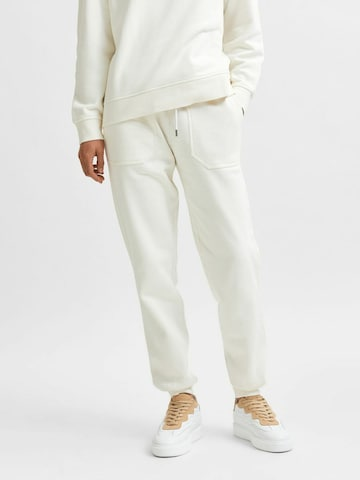 SELECTED FEMME Bukse i beige
