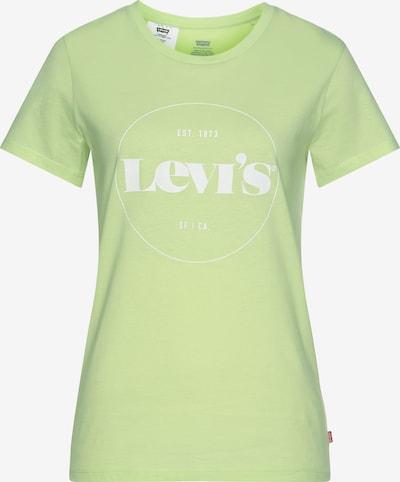 LEVI'S T-Shirt in hellgrün / weiß, Produktansicht