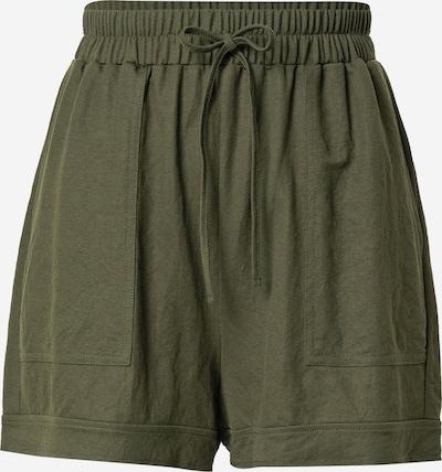 ABOUT YOU Pantalon 'Marina' en vert foncé, Vue avec produit