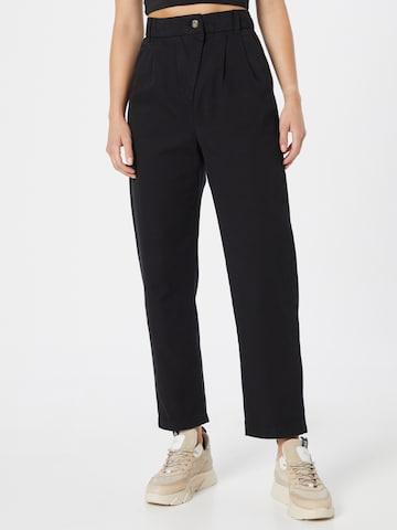 Pantaloni cutați de la ESPRIT pe negru