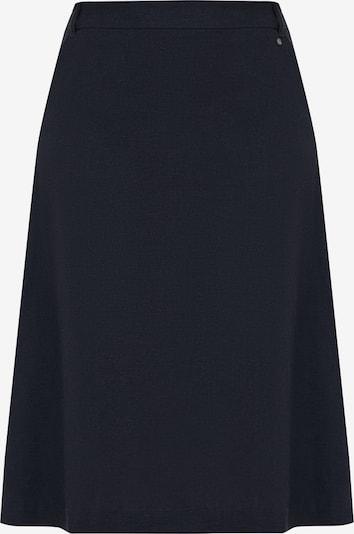 Finn Flare Rock mit seitlichen Knöpfen in blau, Produktansicht