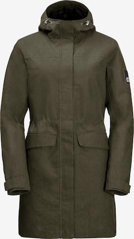 JACK WOLFSKIN Outdoor Jacket in Green