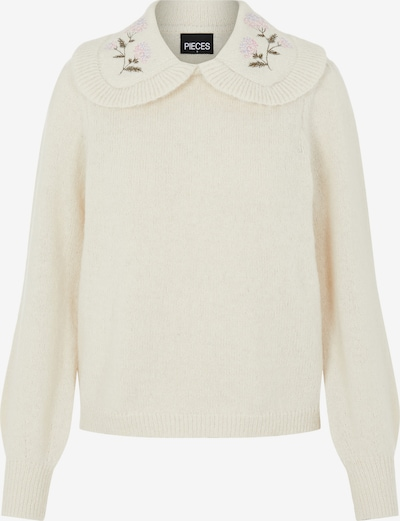 PIECES Sweater 'Enya' in Wool white, Item view