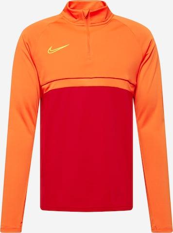 sarkans NIKE Sportiska tipa džemperis 'Academy'