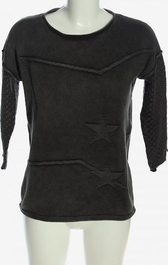 We love XOX Rundhalspullover in XS in schwarz, Produktansicht