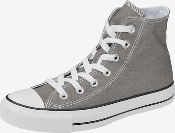 Baskets hautes 'Chuck Taylor ' CONVERSE en gris