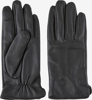 PIECES Full finger gloves 'NELLIE' in Black