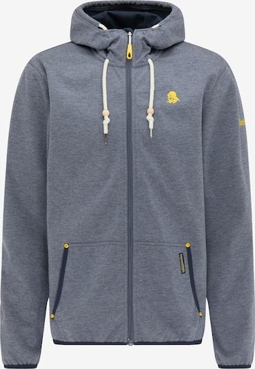 Schmuddelwedda Functionele jas in de kleur Marine / Geel, Productweergave
