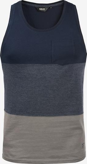 !Solid Tanktop 'Minho' in blau / grau, Produktansicht