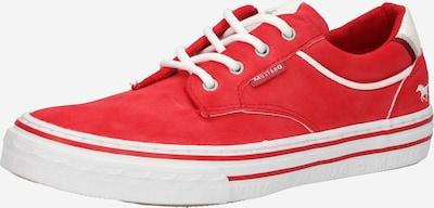 MUSTANG Baskets basses en rouge, Vue avec produit