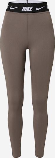 Nike Sportswear Legingi, krāsa - brūns / melns / balts, Preces skats