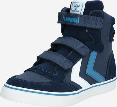 Hummel Sneakers in navy / cyan blue / white, Item view