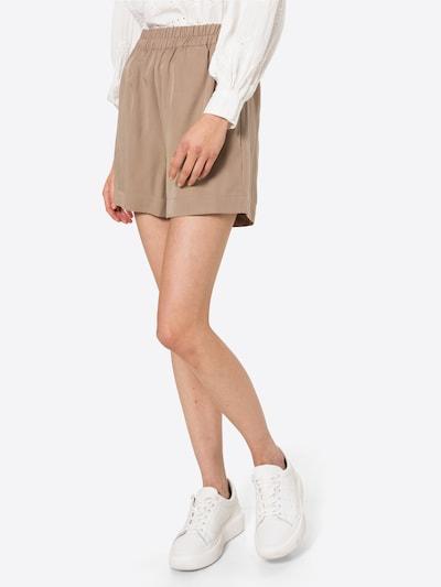 OBJECT Pantalon en noisette, Vue avec modèle