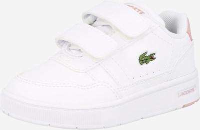 LACOSTE Sneaker in grün / hellpink / rot / weiß, Produktansicht