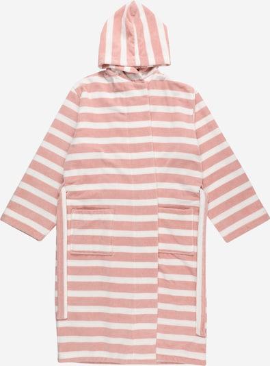 SANETTA Peignoir en rose / blanc, Vue avec produit
