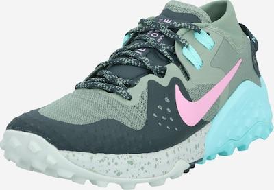 Sportiniai batai ' Wildhorse 6' iš NIKE , spalva - turkio spalva / alyvuogių spalva, Prekių apžvalga