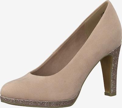 MARCO TOZZI Zapatos con plataforma en rosé / talco, Vista del producto