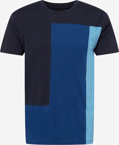 Tricou EDC BY ESPRIT pe bleumarin / albastru regal / albastru deschis, Vizualizare produs