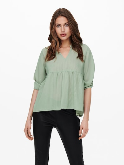 ONLY Blouse 'Bloom' in Pastel green, View model