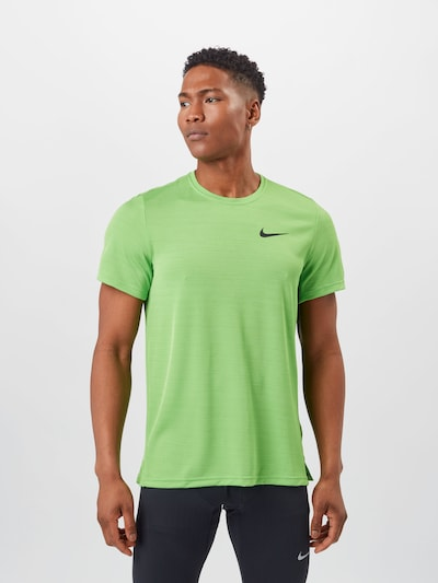 NIKE Functional shirt in apple: Frontal view
