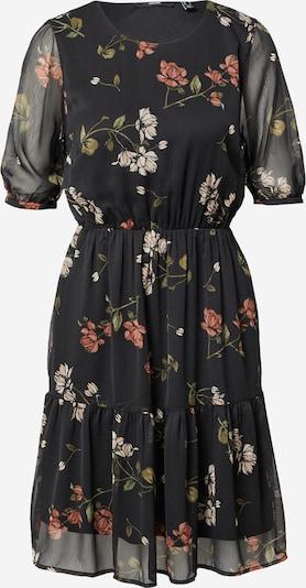 VERO MODA Kleid in beige / oliv / rosa / schwarz / weiß, Produktansicht