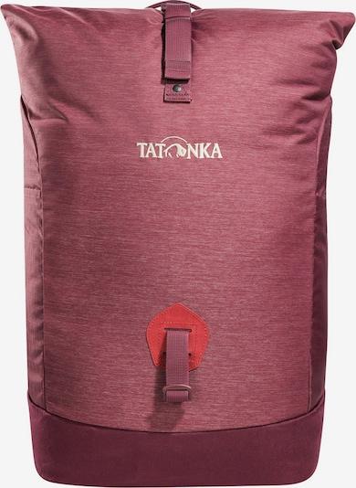 TATONKA Rucksack 'Grip Rolltop' in dunkelrot / rotmeliert, Produktansicht