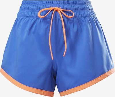 Pantaloni sport REEBOK pe albastru / portocaliu, Vizualizare produs