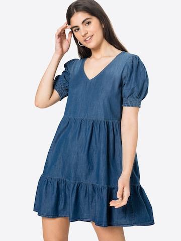 JDY Kleid 'BELLA' in Blau