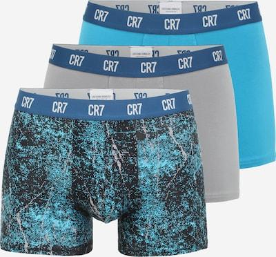 CR7 - Cristiano Ronaldo Боксерки в тюркоазен / опушено синьо, Преглед на продукта
