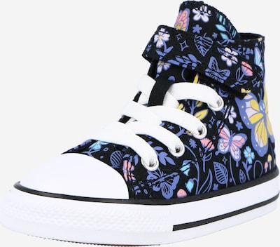 CONVERSE Sneaker 'CTAS 1V' in cyanblau / limone / pink / schwarz / weiß, Produktansicht