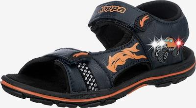 Pantofi deschiși KAPPA pe turcoaz / albastru ultramarin / portocaliu / alb, Vizualizare produs