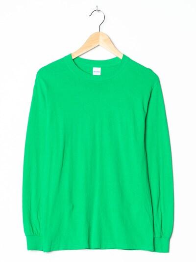 Gildan T-Shirt in M in neongrün, Produktansicht