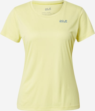 JACK WOLFSKIN Функционална тениска в синьо / светложълто, Преглед на продукта