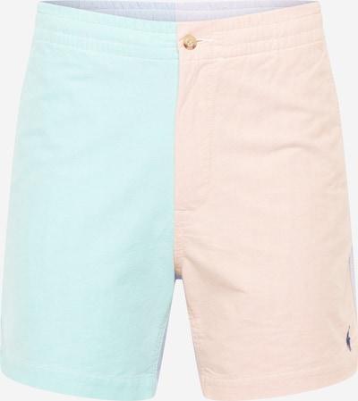 POLO RALPH LAUREN Pantalon 'PREPSTER' en bleu clair / rose ancienne, Vue avec produit