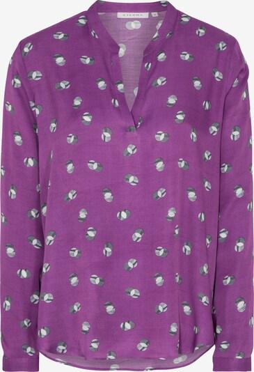 ETERNA Bluse in grau / lila, Produktansicht