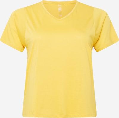 Only Play Curvy Sportshirt in gelb, Produktansicht
