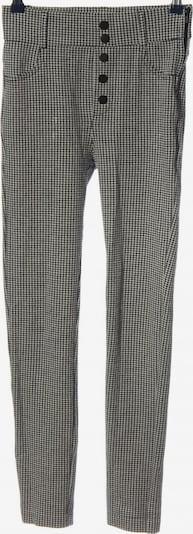 ZARA Pants in XS in Black / Wool white, Item view
