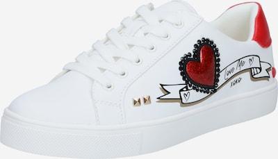 ALDO Sneaker in rot / schwarz / weiß, Produktansicht